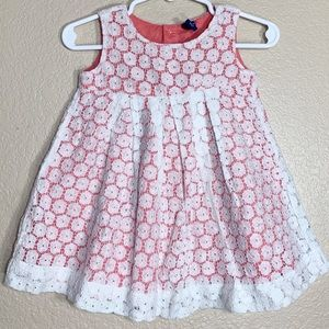 Old Navy baby girl lace dress